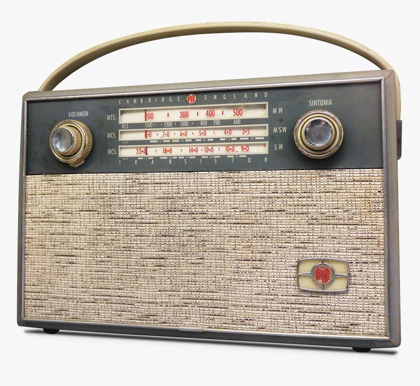 Radio, Transistor, Vintage, Design, Old, Old Radio - Radio Alt Png, Transparent Png, Free Download