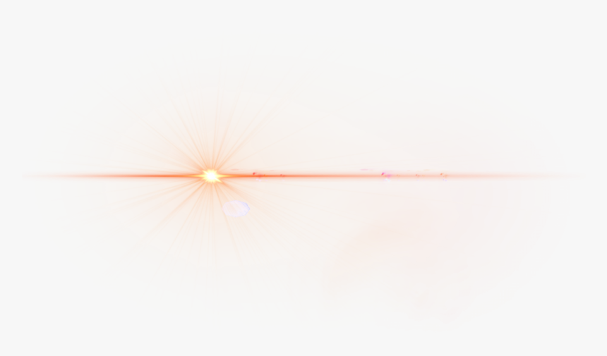 Red Flare Png Free Download - Optical Flare Gold Png, Transparent Png, Free Download