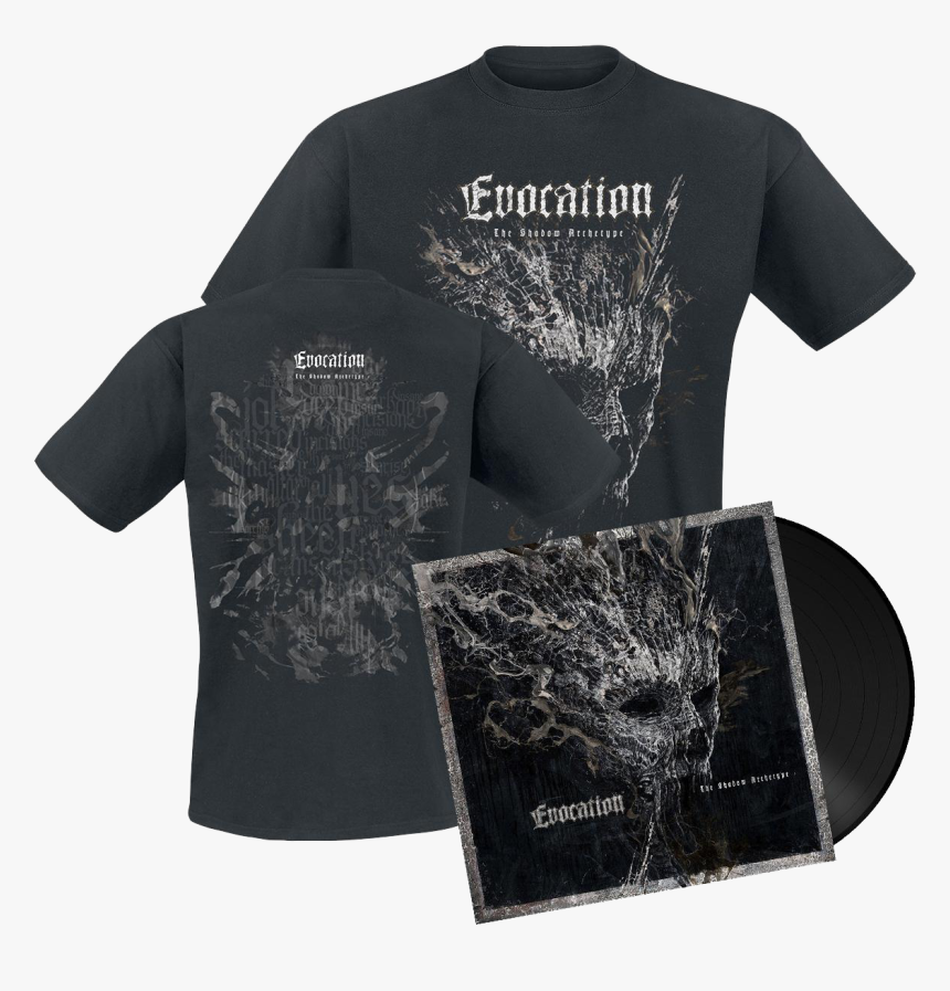 Evocation The Shadow Archetype Vinyl Lp Black Plus - Active Shirt, HD Png Download, Free Download