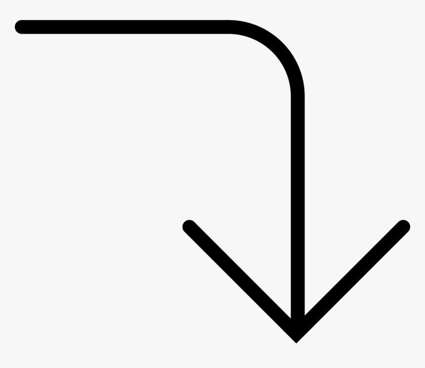 Arrow Pointing Down Png, Transparent Png, Free Download