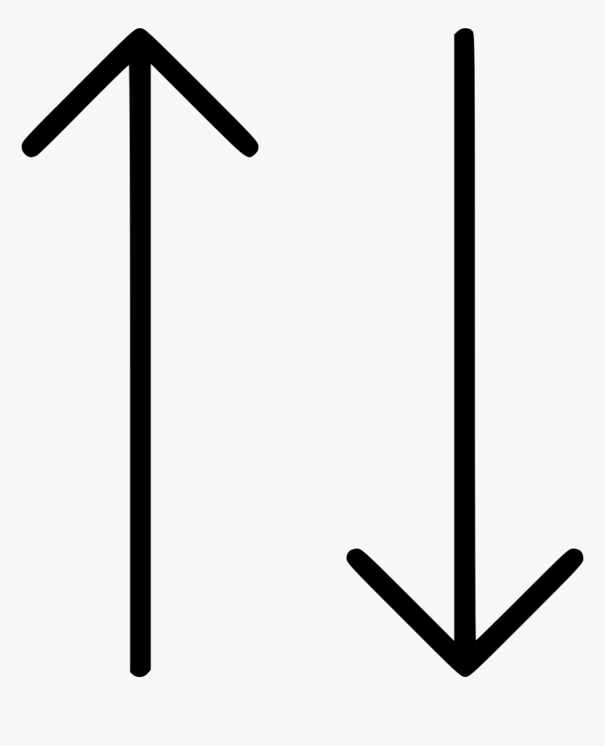Upside Down Arrow - Upside Down Arrow Png, Transparent Png, Free Download