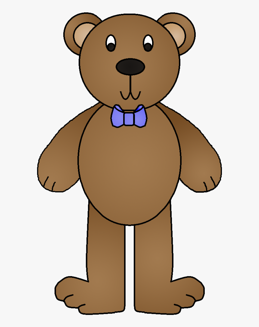 Transparent 3 Bears Clipart - Goldilocks And The Three Bears Teddy Bear, HD Png Download, Free Download