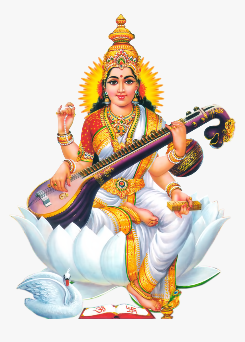 Lord Saraswati Png, Transparent Png, Free Download