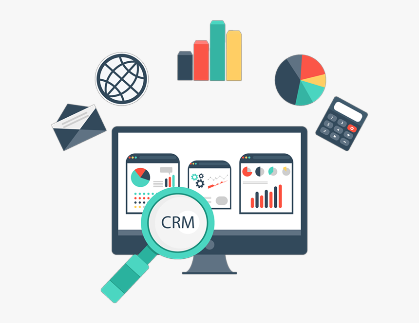 Crm Software Company In Delhi - Portfolio Seo, HD Png Download, Free Download