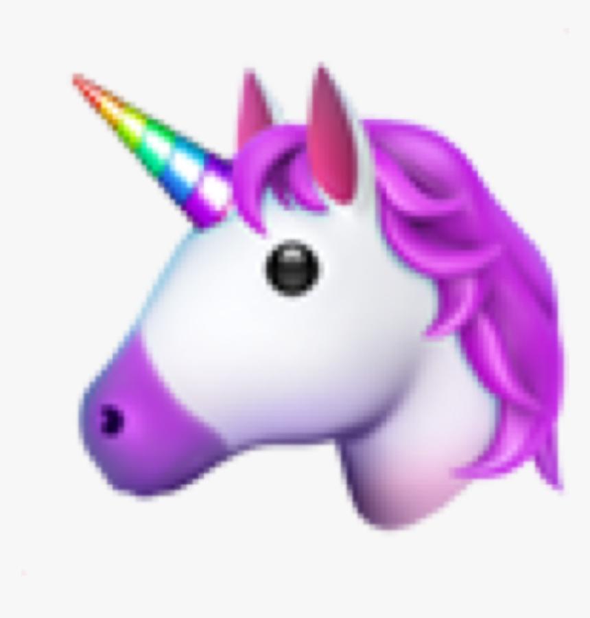 •unicorn Emoji 🦄 Unicorn Emoji Emoticon Iphone Iphonee - Unicorn Emoji Iphone Png, Transparent Png, Free Download