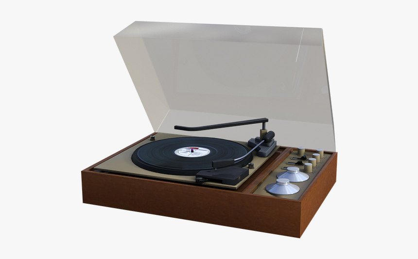 Record Player, Records, Vinyl, Music, Vintage, Glass - Vintage Record Player Png, Transparent Png, Free Download