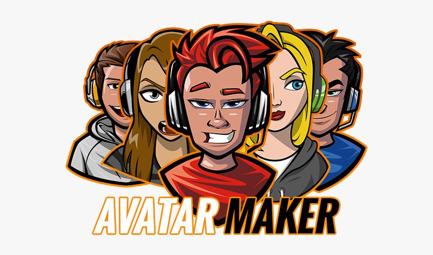 Roblox Behavior Game Video Fortnite Human Cartoon - Avatar Gaming Logo Maker, HD Png Download, Free Download