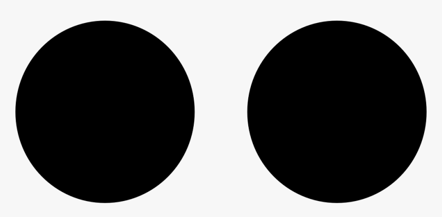 Two Dots - Round Sunglasses Icon Png, Transparent Png, Free Download