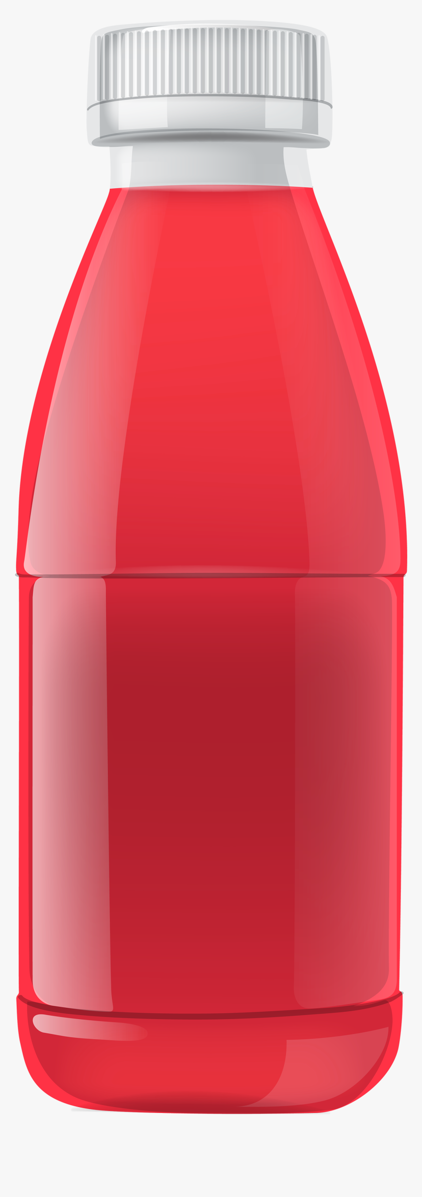 Red Juice Bottle Png Clipart - Juice Bottle Clipart Png, Transparent Png, Free Download