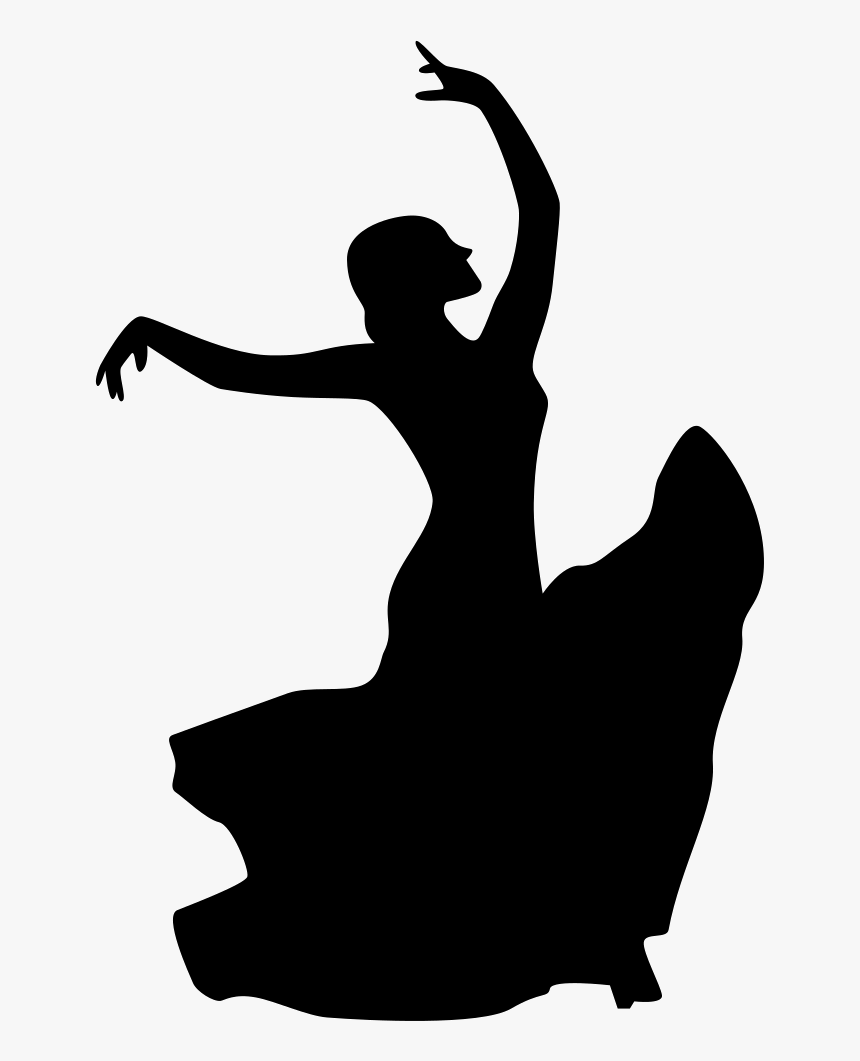 Dancer Transparent Svg Free Flamenco Dancer Silhouette Png Png Download Kindpng