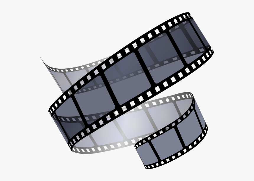 Movie Reels Png Vector Transparent Library - Transparent Film Reel Png, Png Download, Free Download