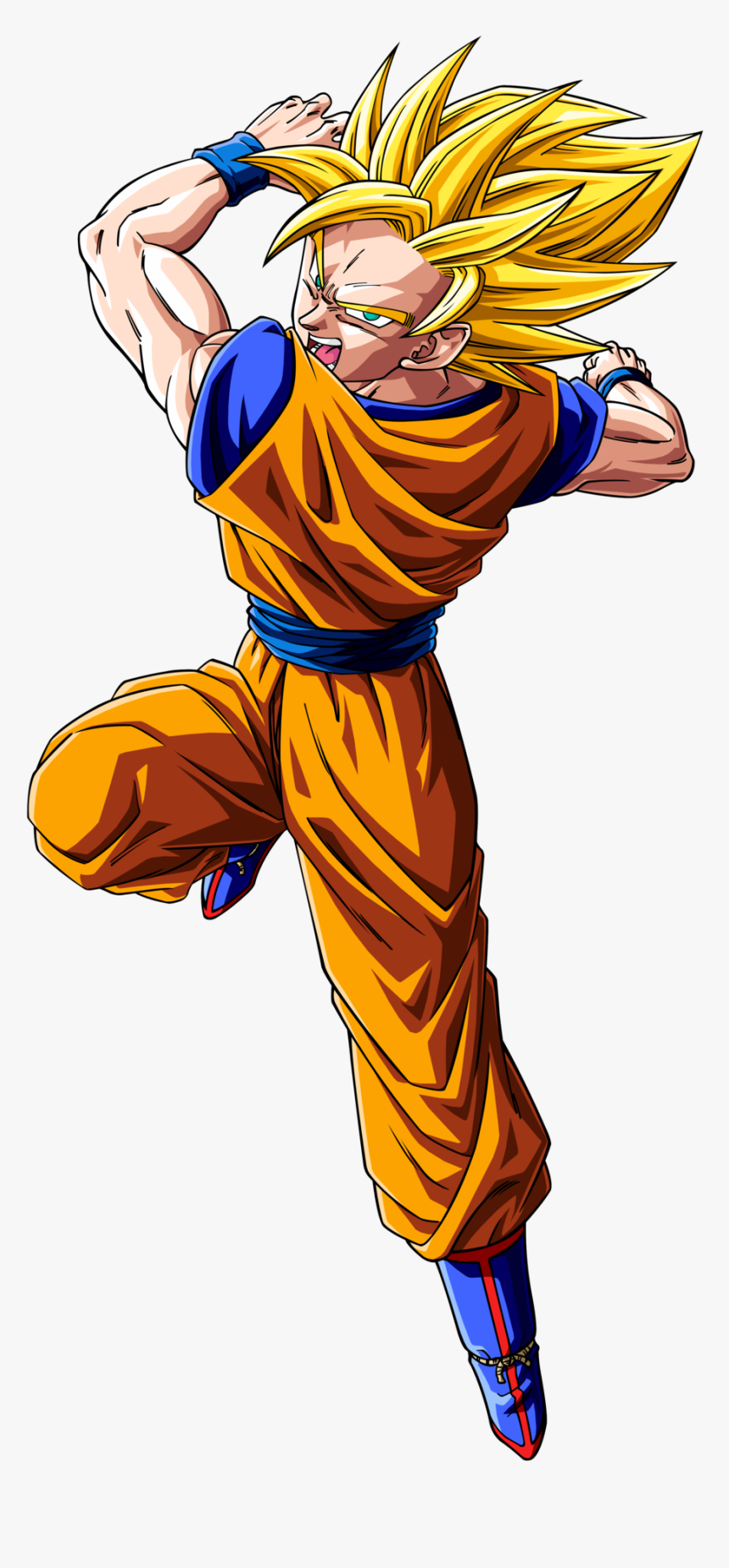 Dragon Ball Z Goku Transparent Image - Dragon Ball Super Goku Ssj, HD Png Download, Free Download