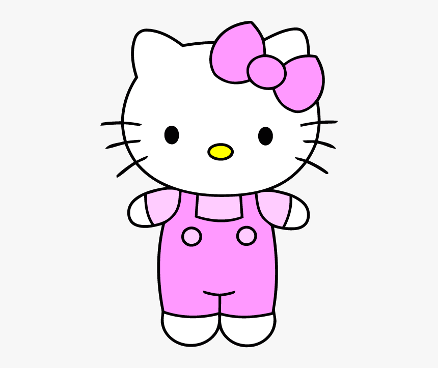 Hello Kitty Clipart Group Cute Easy Cartoon Draw Hd Png Download Kindpng