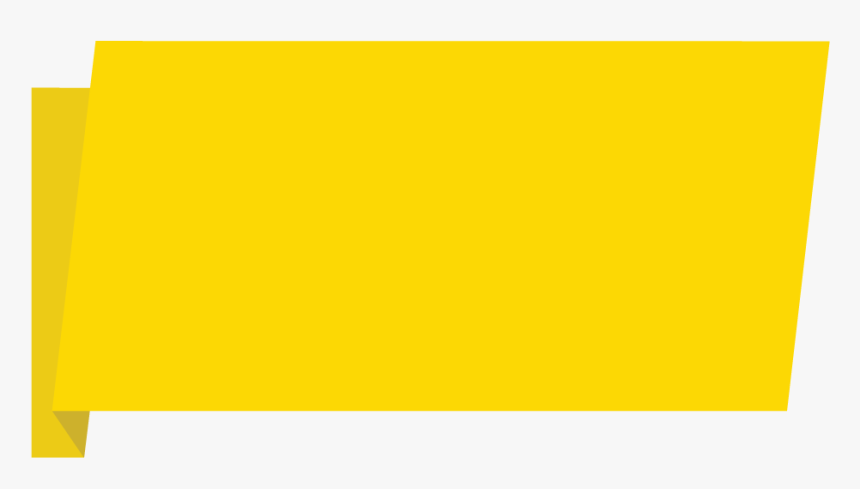 Yellow Banner Download Png Image - Yellow Banner Png Transparent, Png Download, Free Download