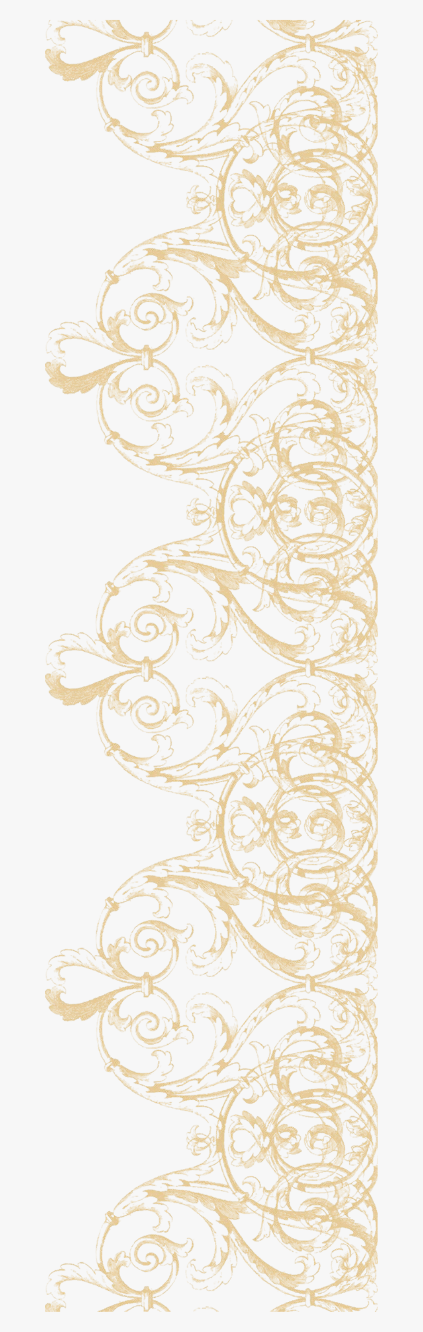 Transparent Lace Pattern Png - Lace Border Clipart Png, Png Download, Free Download