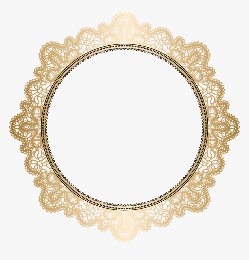 Transparent Gold Lace Png, Png Download, Free Download
