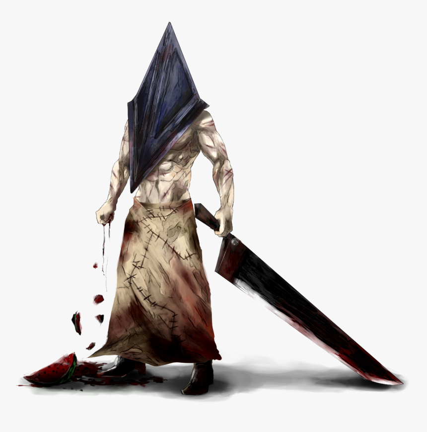 Pyramid Head Png Pyramid Face Silent Hill Transparent Png Kindpng