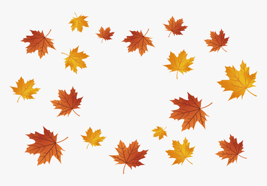 Maple Leaves Falling Png Download Fall Falling Leaves Png Transparent Png Kindpng