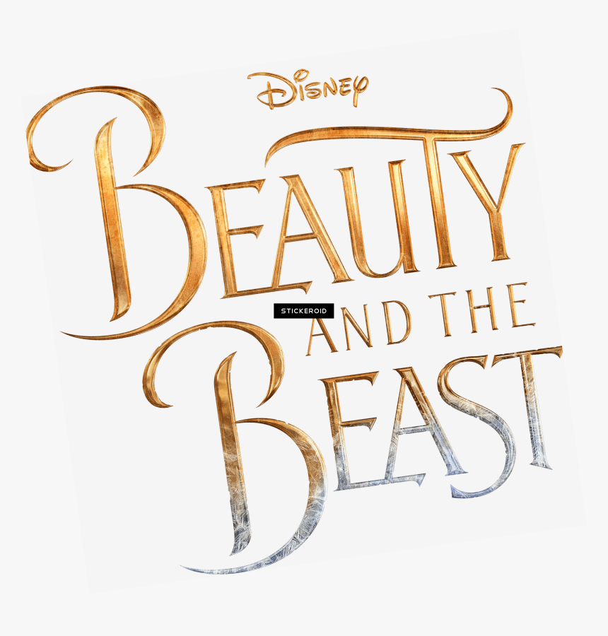 Beauty And The Beast New Logo - Beauty And Beast Logo Transparent Background, HD Png Download, Free Download