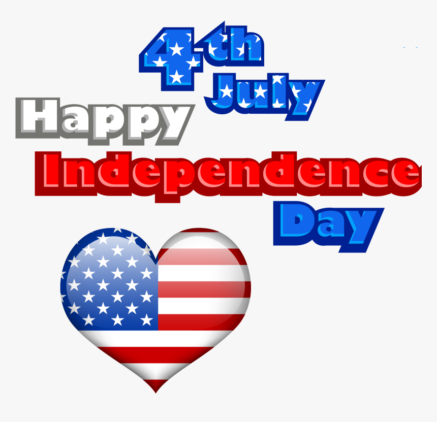 Happy 4th Of July Png- - Flag Of The United States, Transparent Png, Free Download