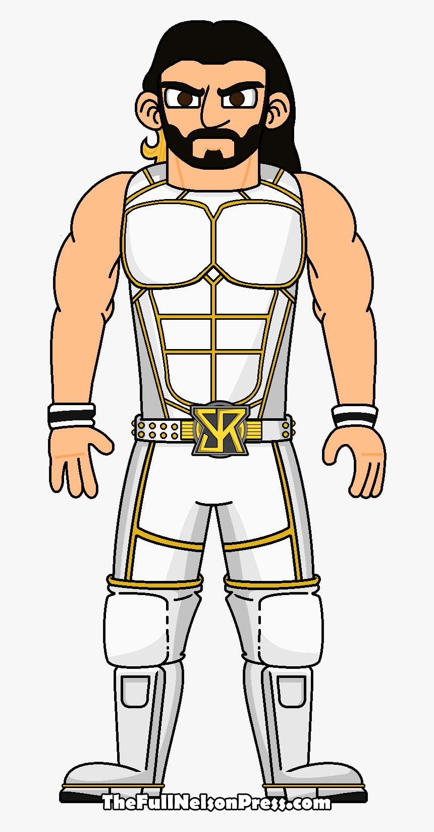 Transparent Wwe Seth Rollins Png Wwe Seth Rollins Cartoon Png Png Download Kindpng