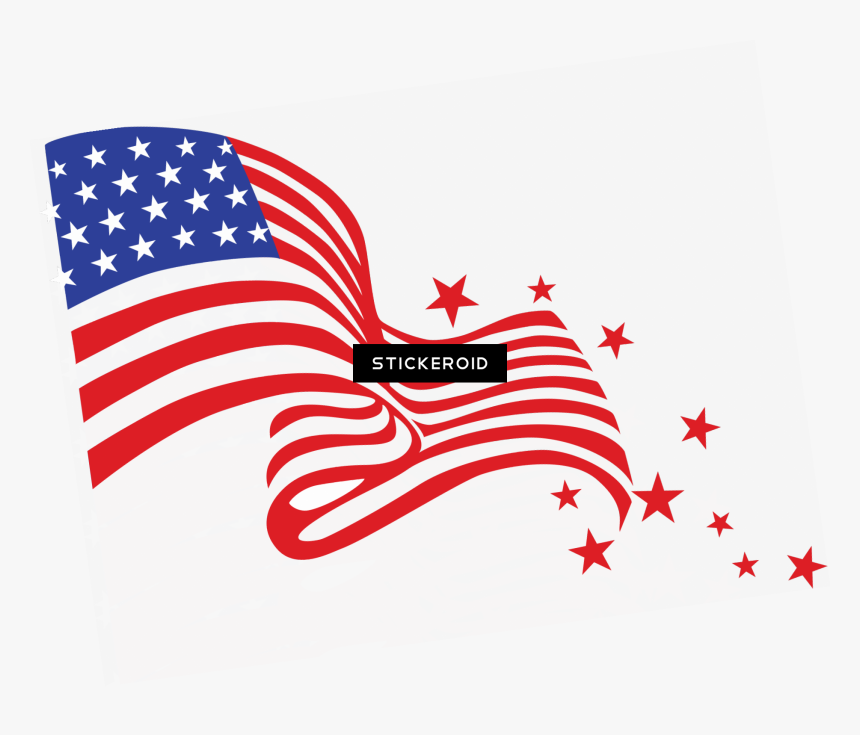 America Flag Hd - Cute 4th Of July, HD Png Download, Free Download