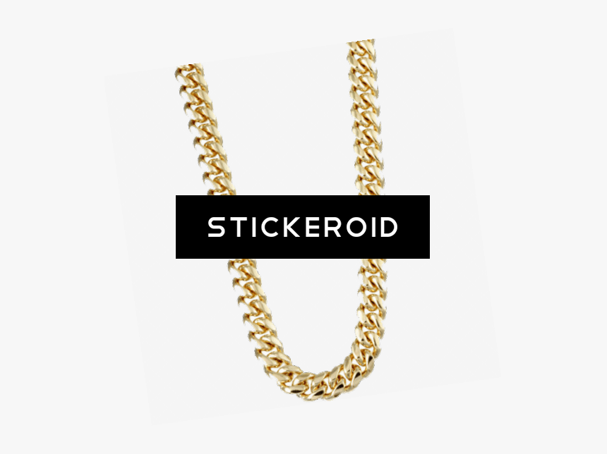 Thug Life Gold Chain - Thug Life Chain Transparent, HD Png Download, Free Download