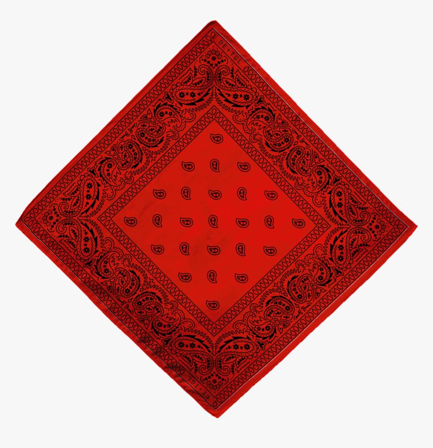 Red Bandana-big - White Bandana, HD Png Download, Free Download