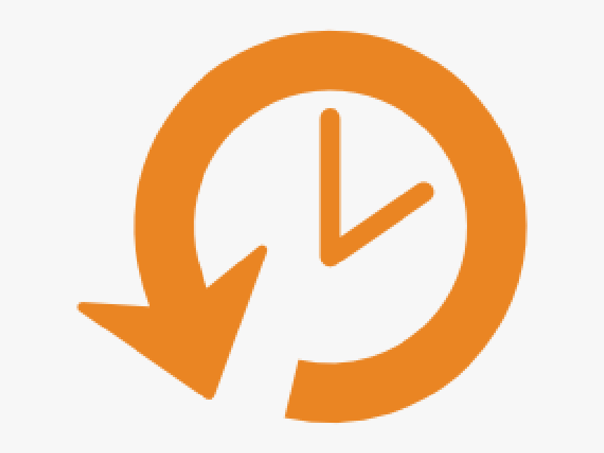 Reset Clock Icon , Png Download - Clock Arrow Icon, Transparent Png, Free Download