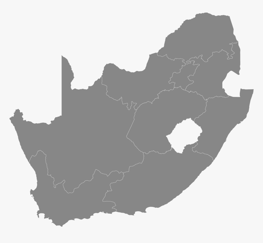 South Africa Map Svg, HD Png Download, Free Download