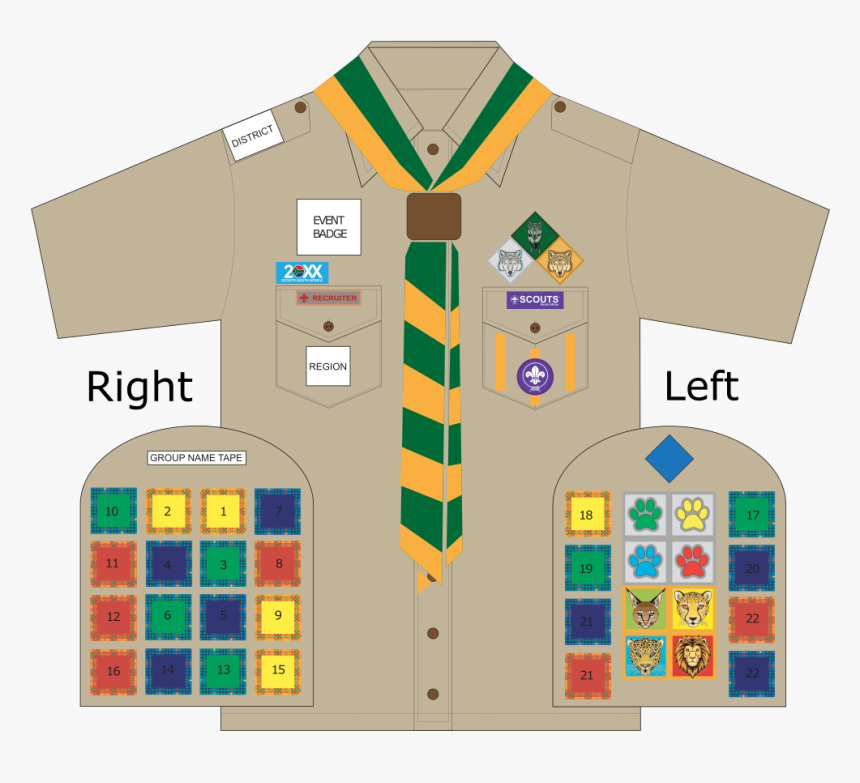 Cubs South Africa Badges Position, HD Png Download, Free Download