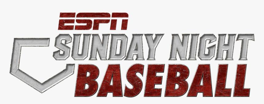 Espn Sunday Night Baseball Logo - Movie, HD Png Download, Free Download