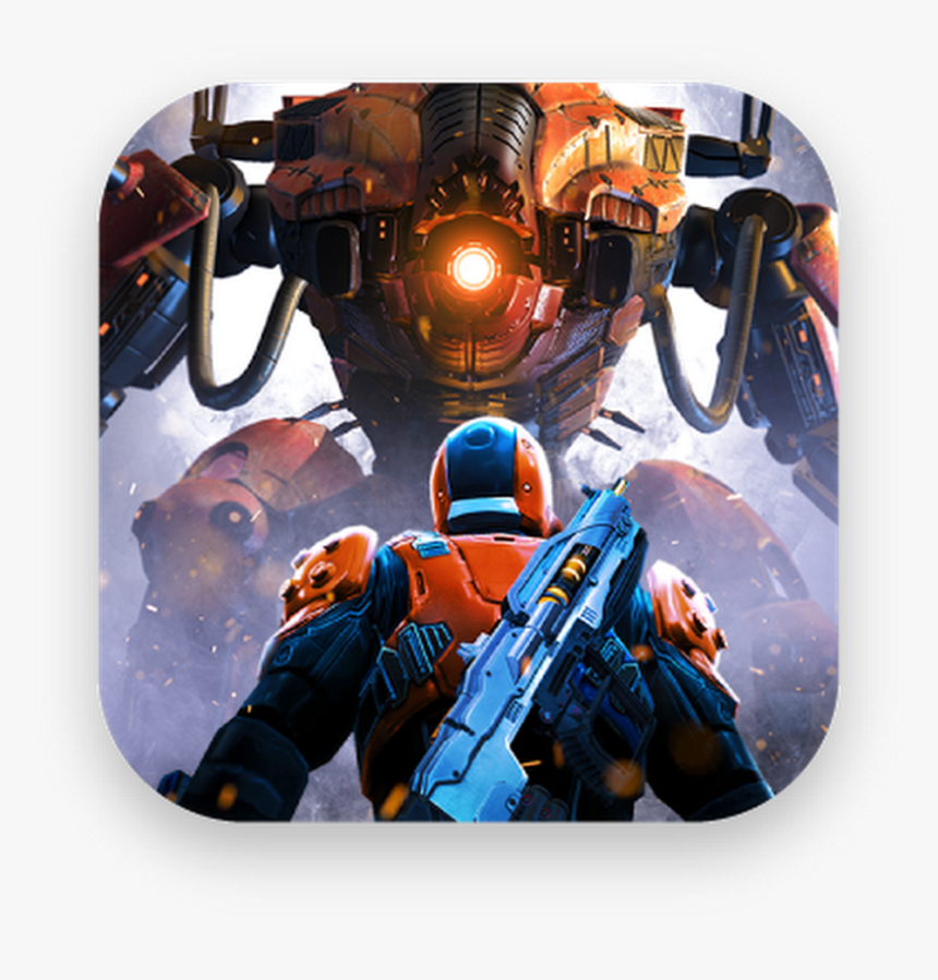 The Shadowgun Legends Logo With Two Robots - Shadowgun Legends, HD Png Download, Free Download