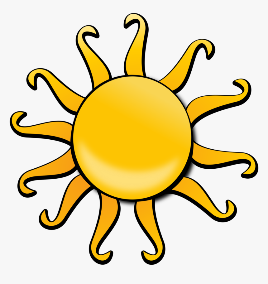 Sunshine Clipart Cartoon - Public Domain Clip Art Free For Commercial Use Sun, HD Png Download, Free Download