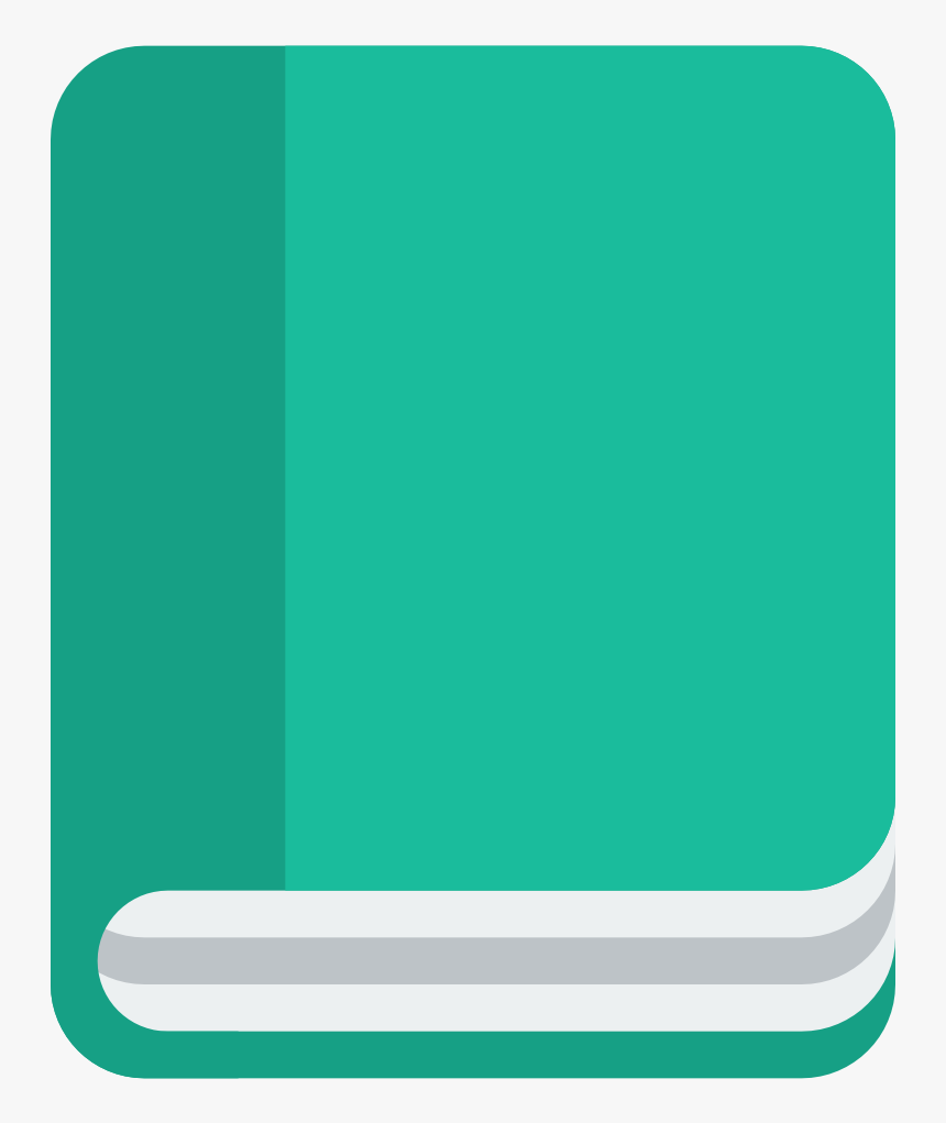 Flat Books Icon Png, Transparent Png, Free Download