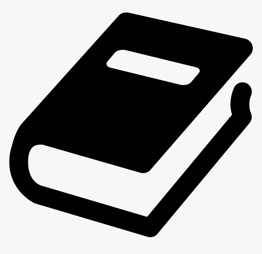 Transparent Book Png Image - Black Book Icon Png, Png Download, Free Download
