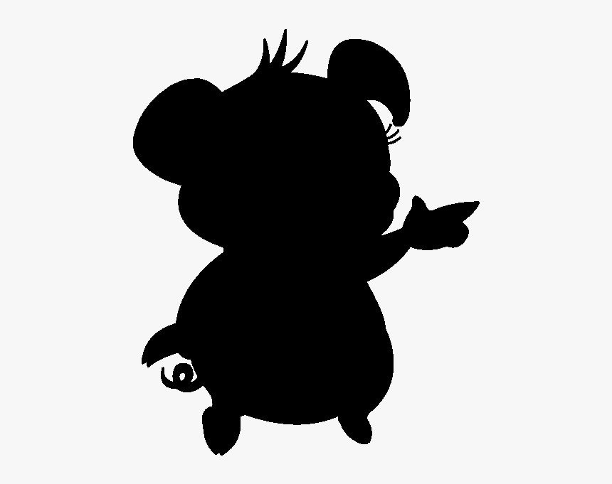 Stitch Silhouette Drawing Image The Walt Disney Company - Silhouette Lilo Et Stitch, HD Png Download, Free Download