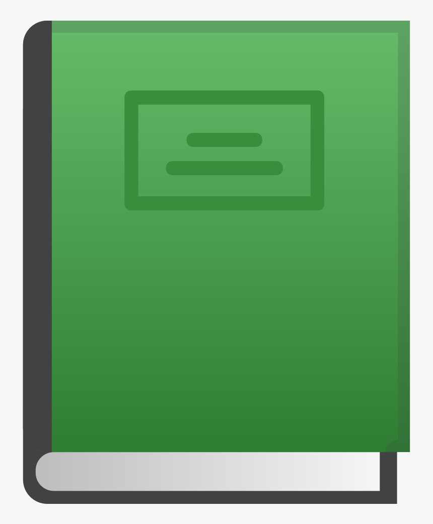 Green Book Icon - Green Book Icon Png, Transparent Png, Free Download