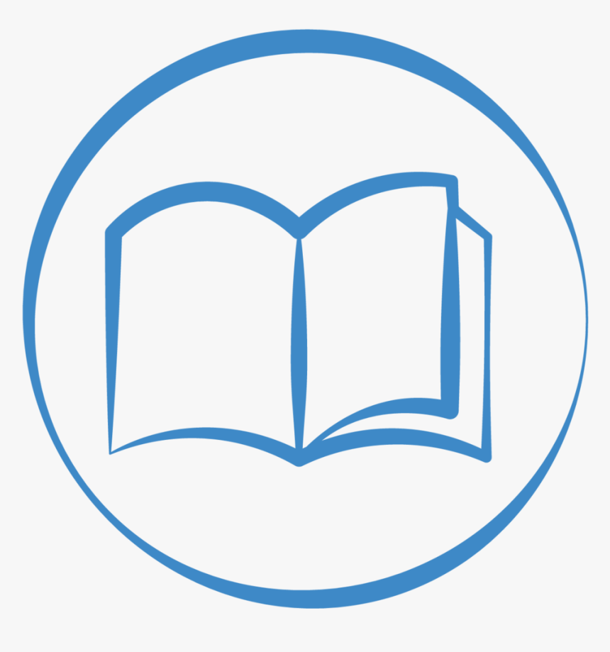 Transparent Book Png Transparent - Circle Icon Book Png, Png Download, Free Download