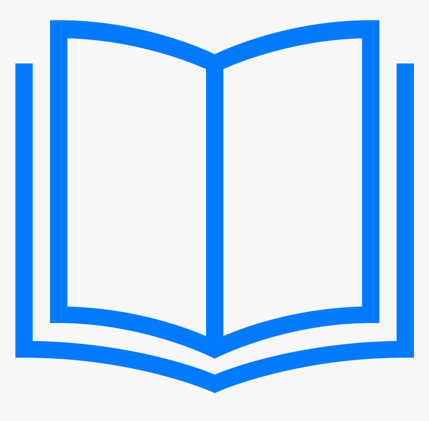 Computer Icons Book Clip Art - Book Icon Blue Png, Transparent Png, Free Download