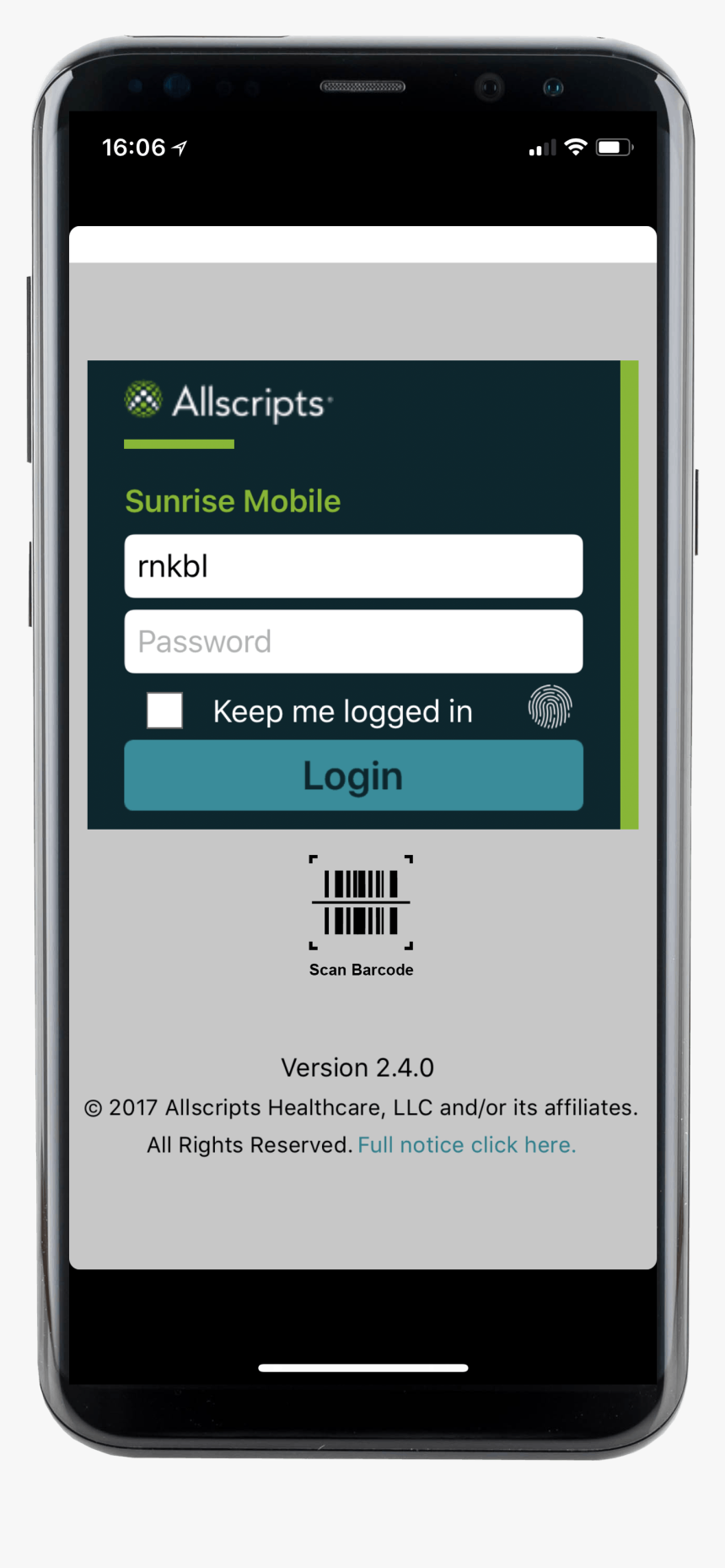 Allscripts Andro - Iphone, HD Png Download, Free Download