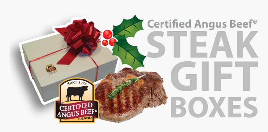 Steak Boxes Front - Certified Angus Beef, HD Png Download, Free Download