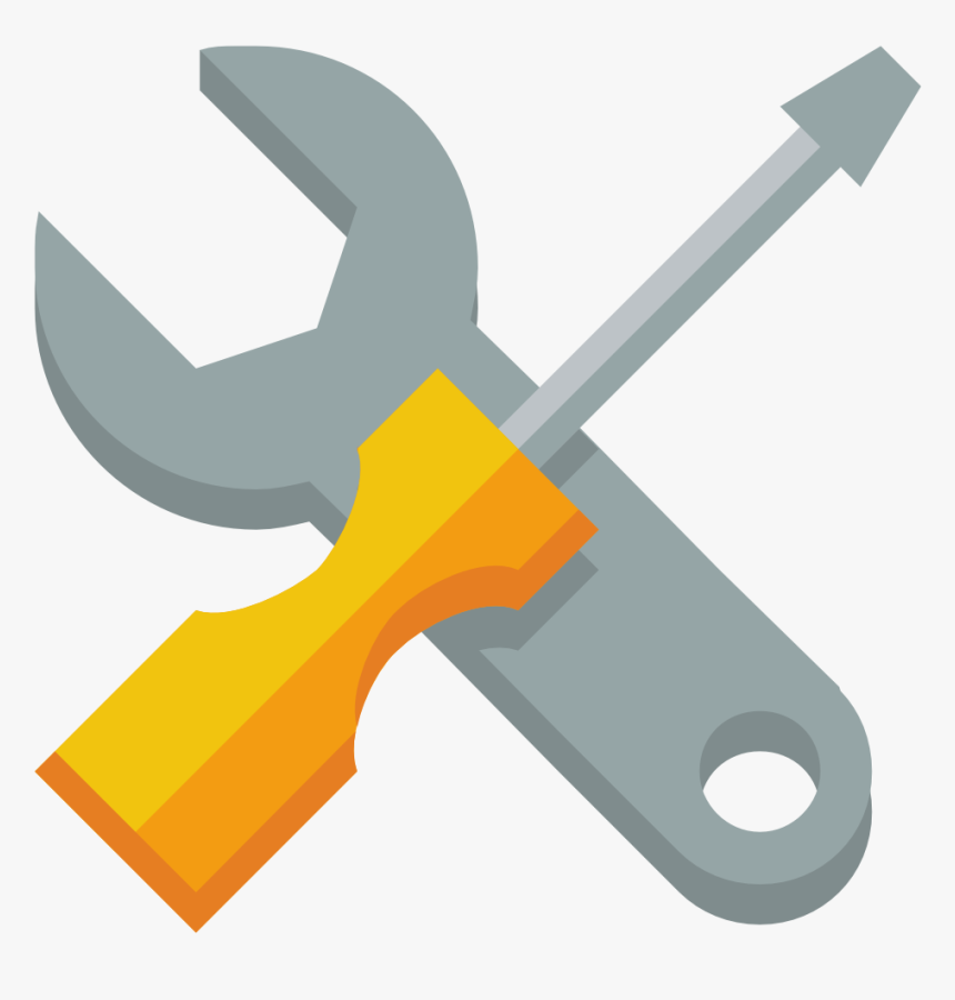 Sys, System, Tool, Tools, Work, Wrench Icon - Wrench And Screwdriver Vector, HD Png Download, Free Download