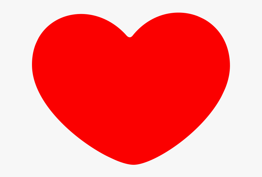 Red Heart Png Transparent - Free Red Heart Vector, Png Download, Free Download