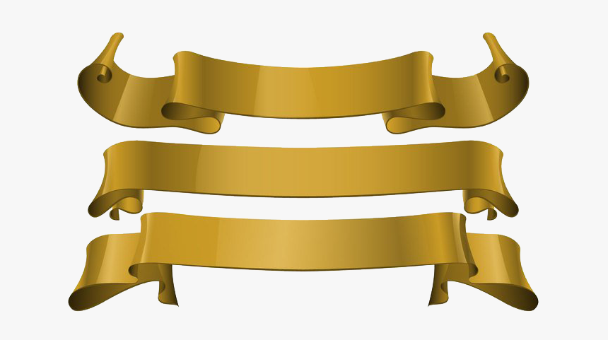 Gold Ribbon Png Download Image - Gold Anniversary Ribbon Transparent, Png Download, Free Download