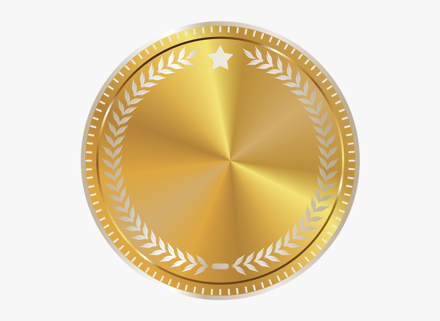 Certificate Gold Seal Png, Transparent Png, Free Download