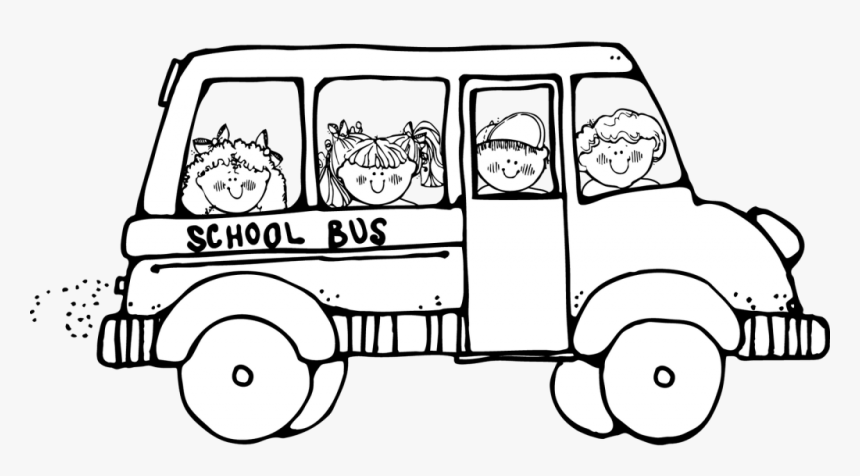 Free School Cliparts Outline Clip Art School Bus Black And White
