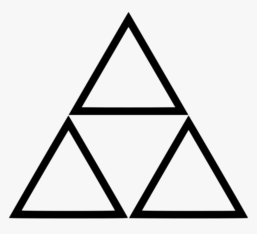 Triangle Link Zelda Video Gaming - Link Triangle Zelda, HD Png Download, Free Download
