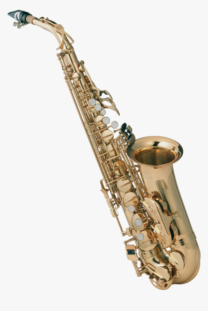 14758 - Saxophone With No Background, HD Png Download, Free Download