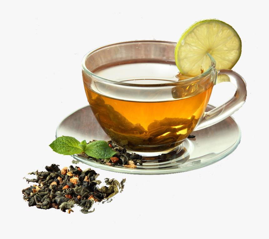 Good Morning Image With Green Tea Hd Png Download Kindpng
